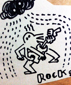 ROCKで6月